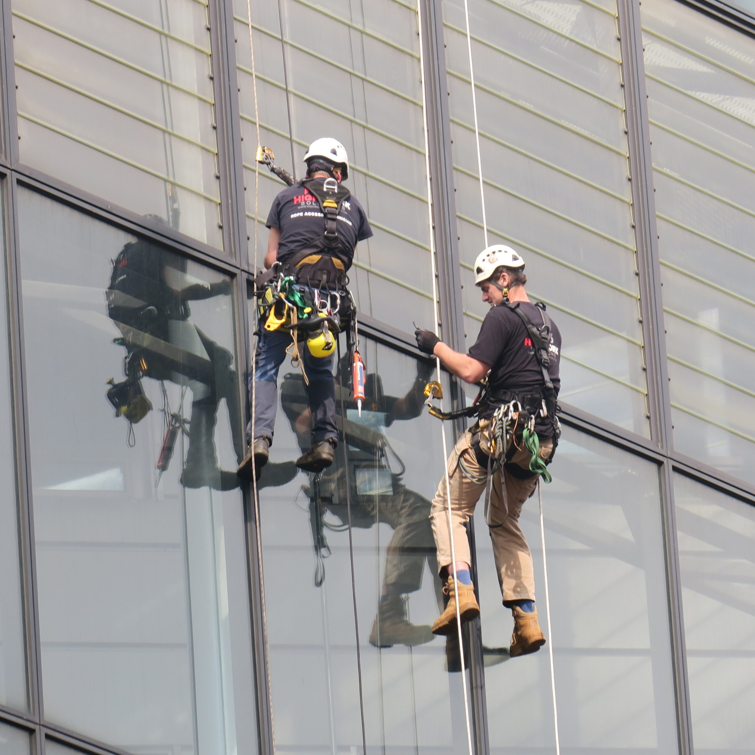 Technisch onderhoud Rope Access - High Work Solutions
