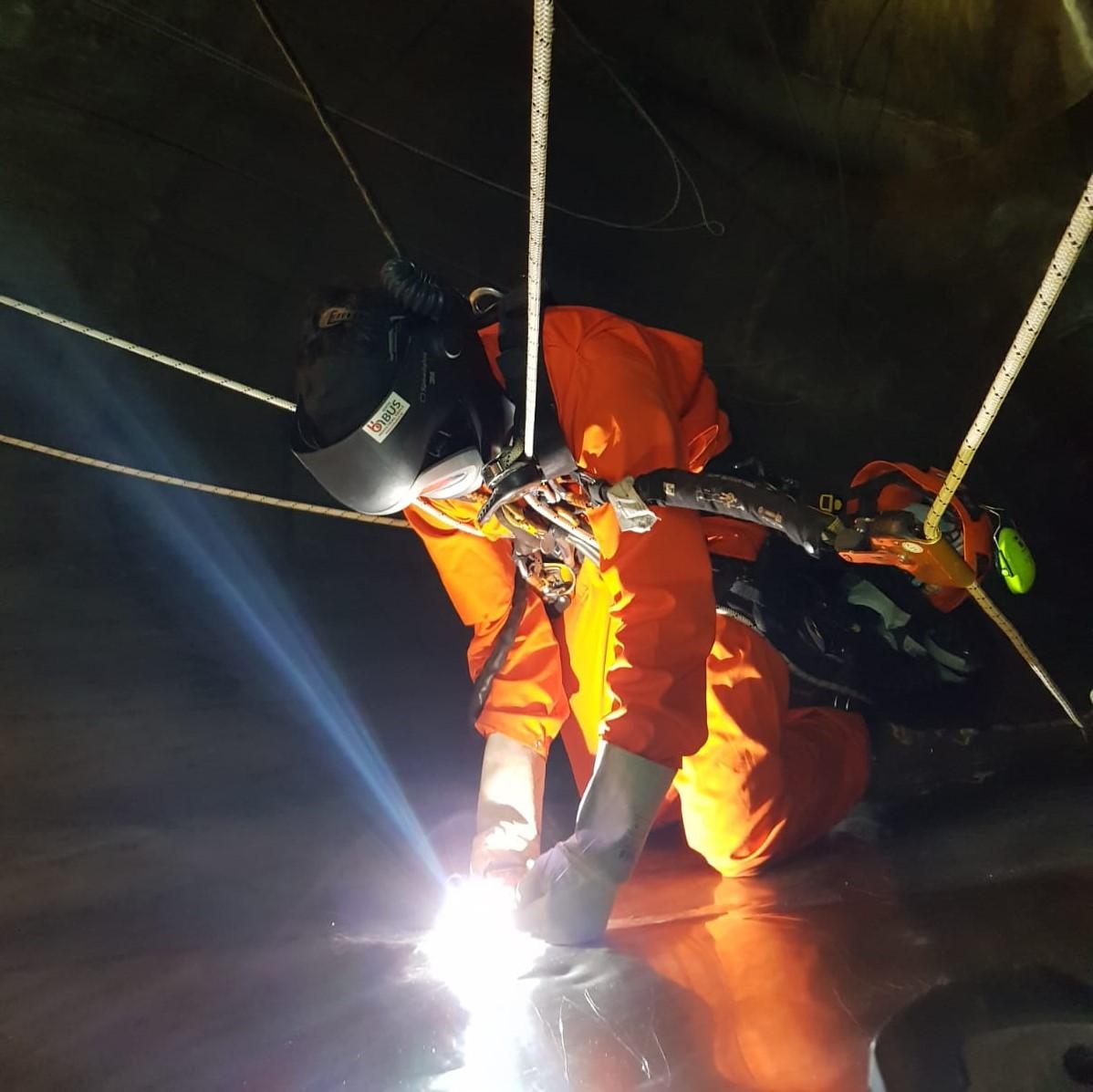 Rope Access constructie werkzaamheden