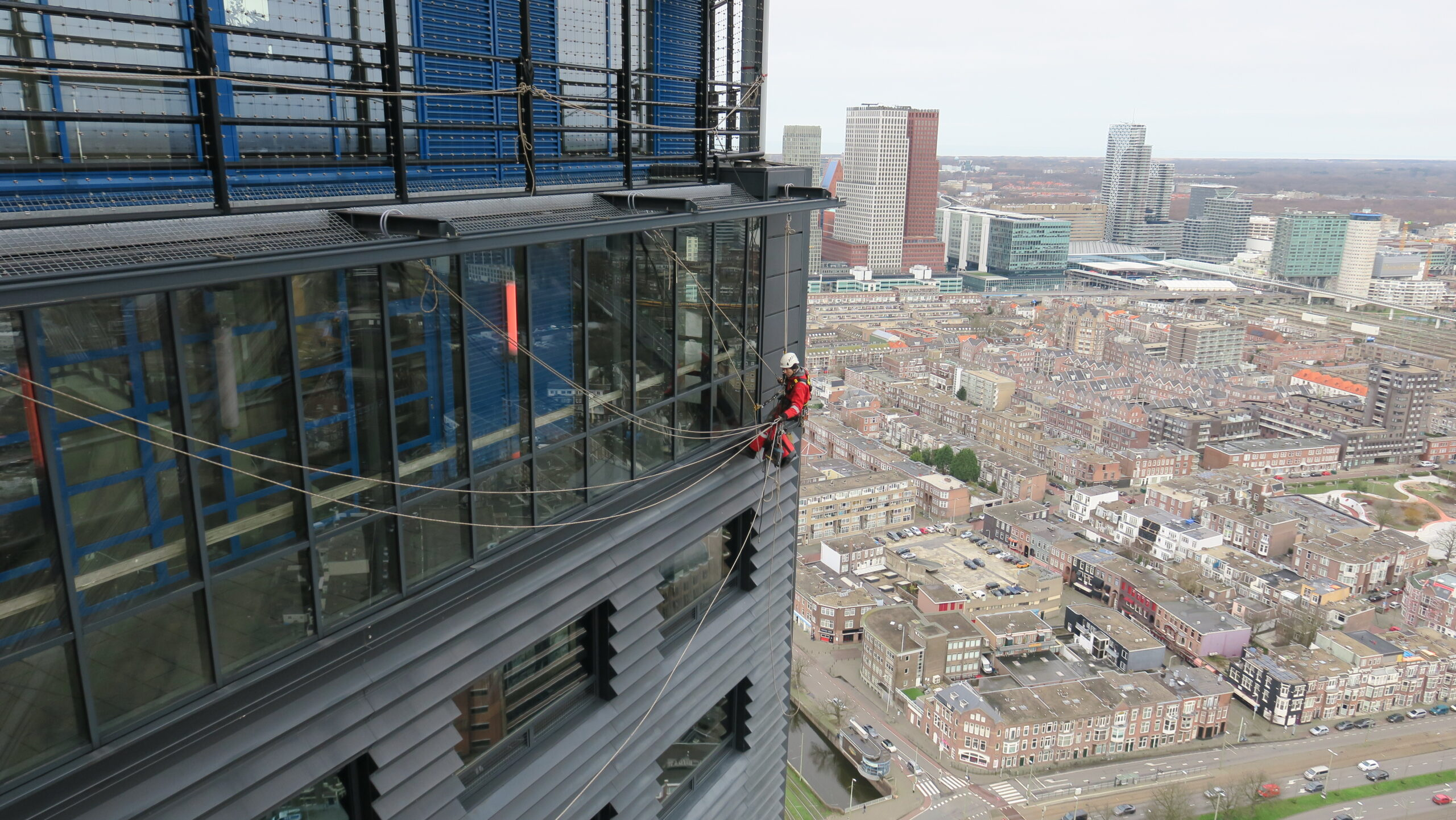 Rope acces op hoogte - High Work Solutions