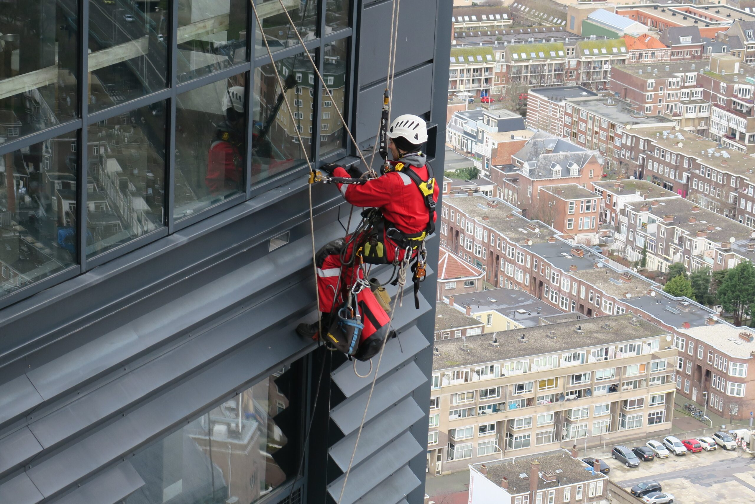 Wat is Rope Access - HWS - High Work Solutions